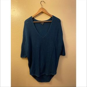 Express Knit Hi•Low sweater